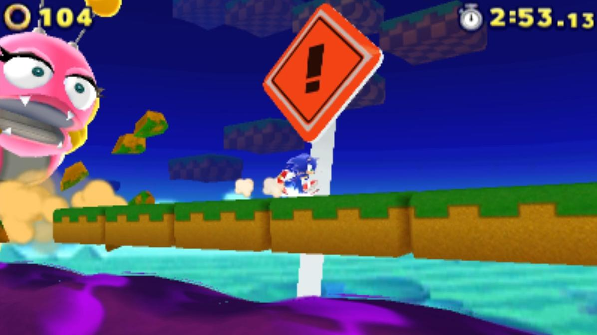 Sonic Lost World - Windy Hill Zone 1 Gameplay