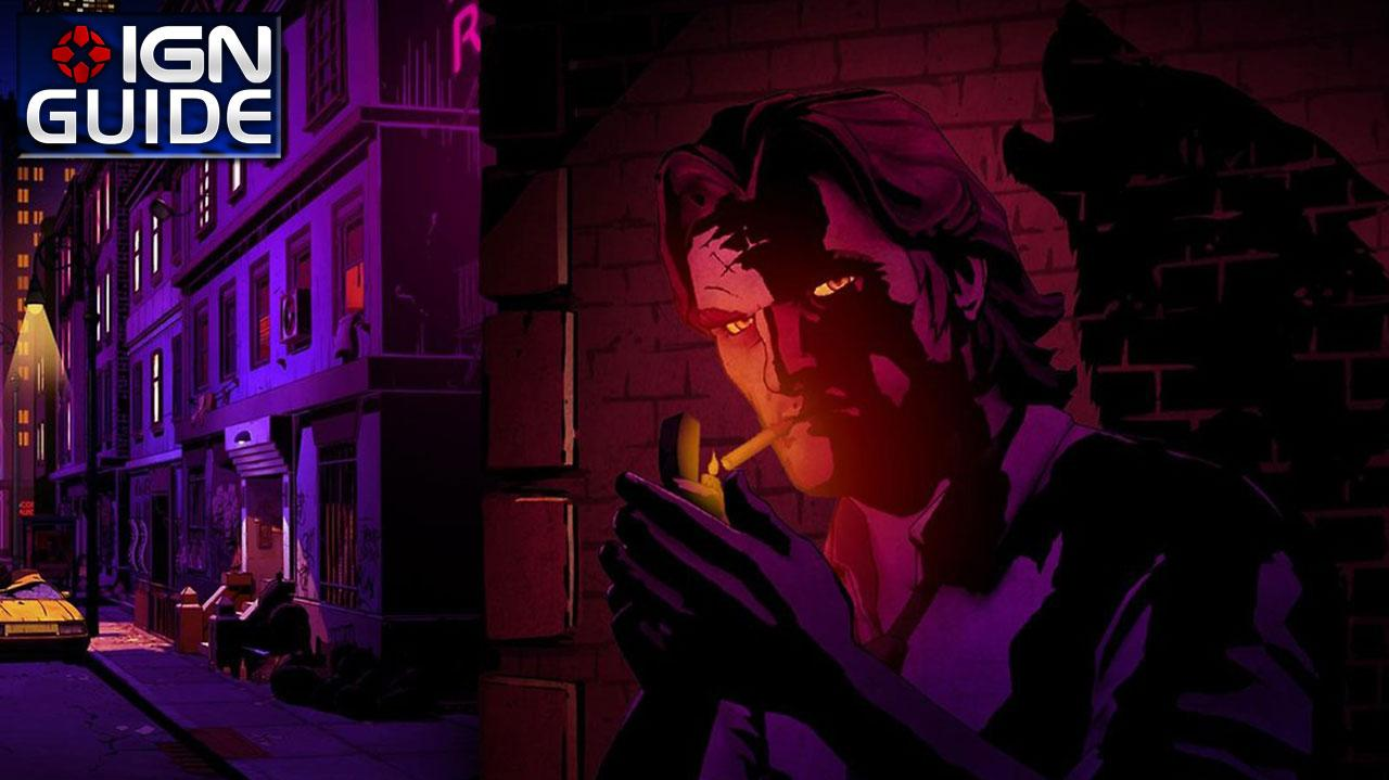 The Wolf Among Us Walkthrough - Episode 1; Chapter 05 Consequences, pt 1