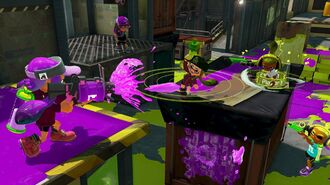 Splatoon Inky Encounters at Blackbelly Skatepark