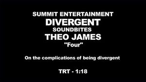 Divergent - Theo James Interview 'On the Complications of Being Divergent'