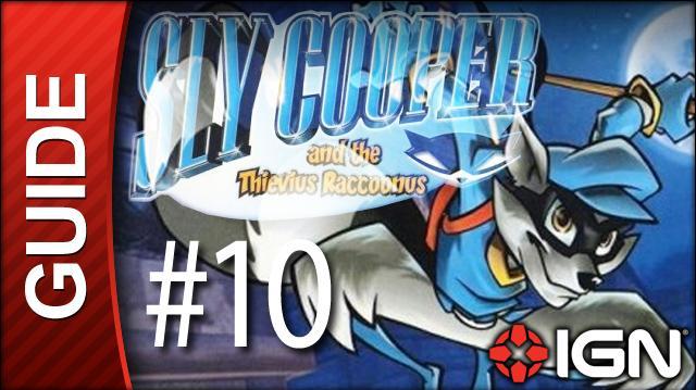 Sly Cooper Thievius Raccoonus Walkthrough - 10 Episode 1 Part 6 Gunboat Graveyard