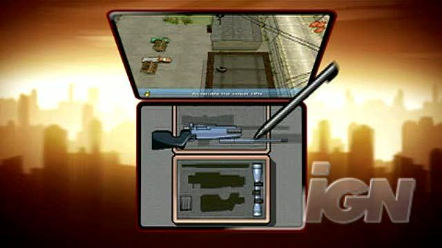 Grand Theft Auto Chinatown Wars Nintendo DS Trailer - Sniper Trailer