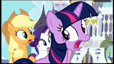 My Little Pony Friendship Is Magic Royal Pony Wedding (2012) - Clip Breaching the Barrier