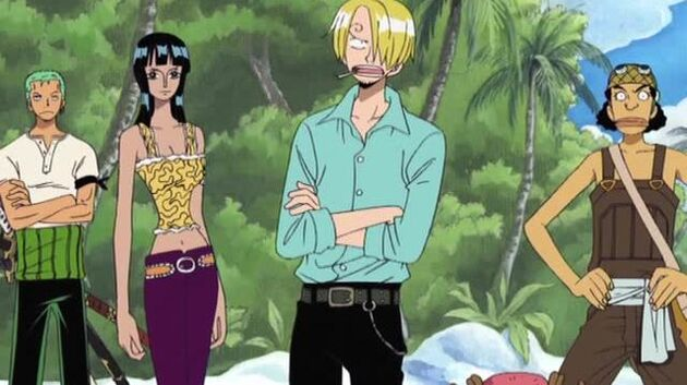 One Piece - Episode 156 - Already Criminals? Skypiea's Upholder of the Law!
