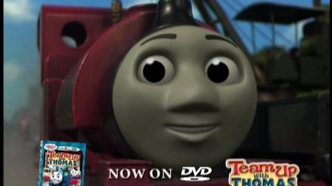 Thomas And Friends Team Up With Thomas (2009) - Clip Pulling the puppet show
