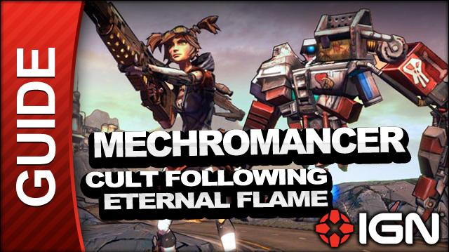 Borderlands 2 Mechromancer Walkthrough - Cult Following Eternal Flame - Side Mission