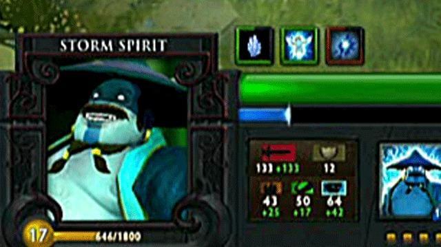 Dota 2 Heroes Storm Spirit