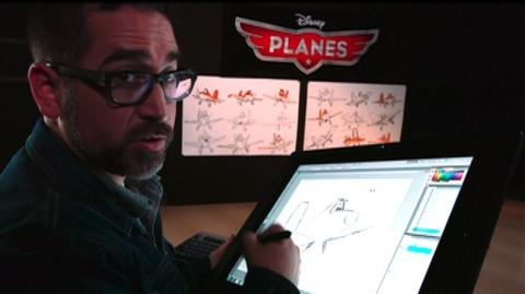 Planes (2013) - Bonus Clip Learn to Draw Dusty