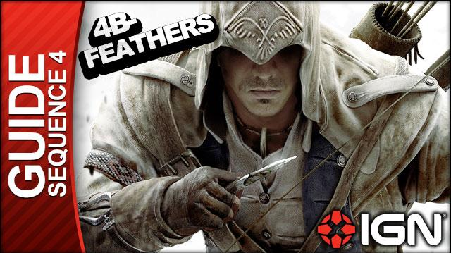Assassin's Creed 3 - Sequence 4 Feathers and Trees - Walkthrough (Part 13)