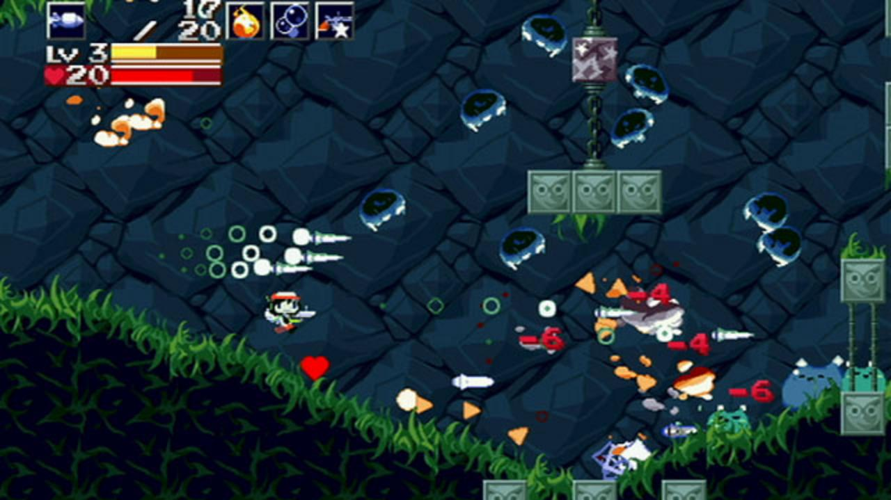 Cave Story Nintendo Wii Video - Kicking Butt