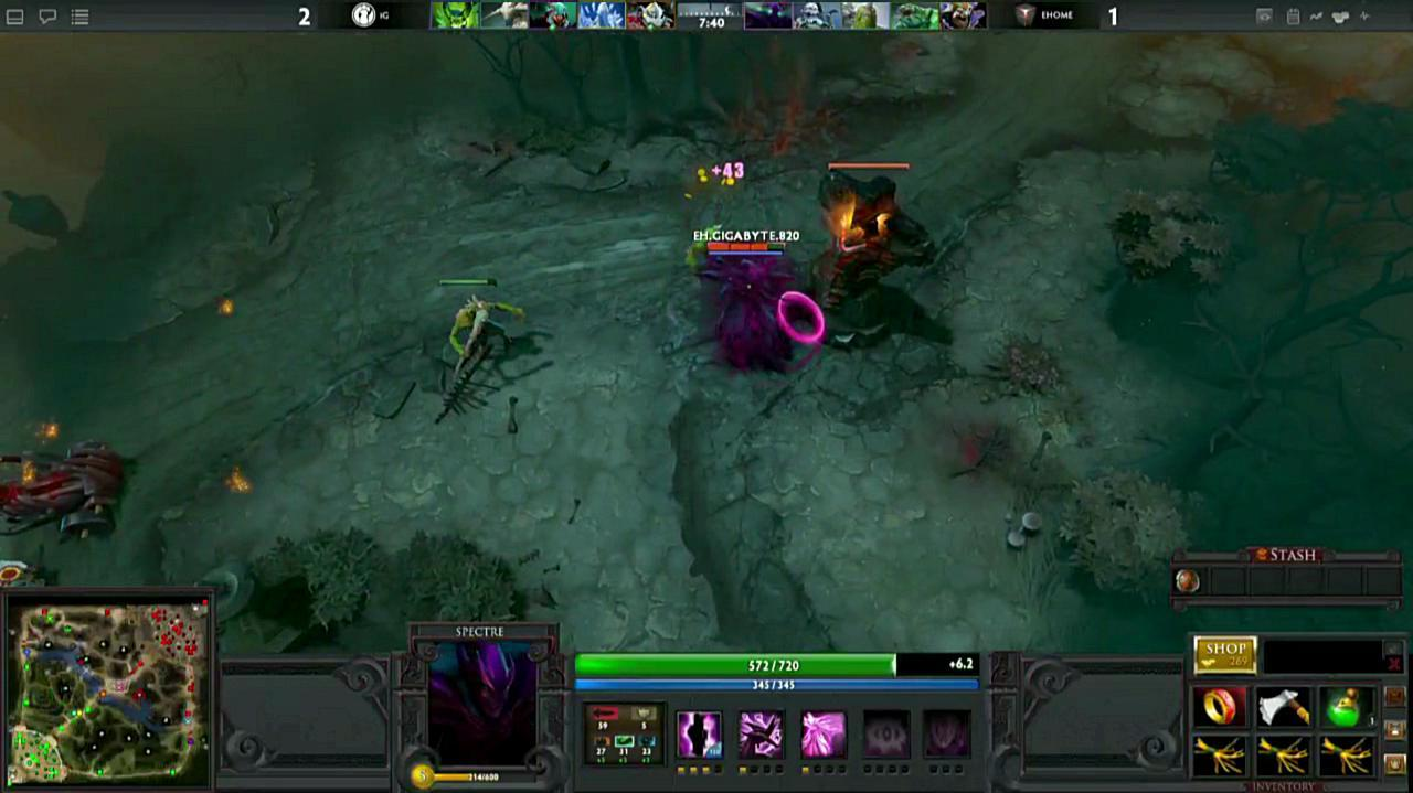 Dota 2 Wiki: Video - Gamescom DOTA 2 Denied Gameplay