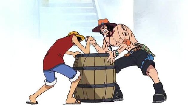 One Piece - Episode 95 - Ace and Luffy! Hot Emotions and Brotherly Bonds!