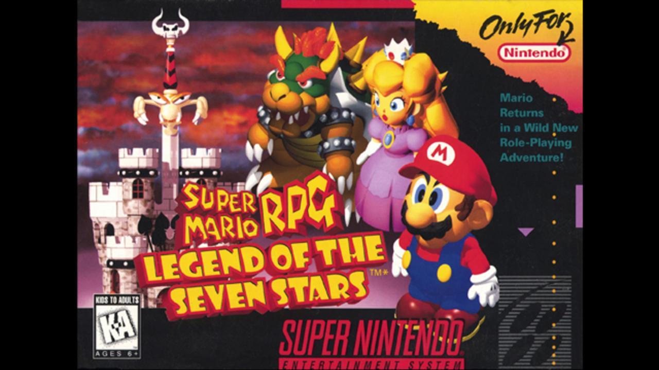 Super Mario RPG Gameplay