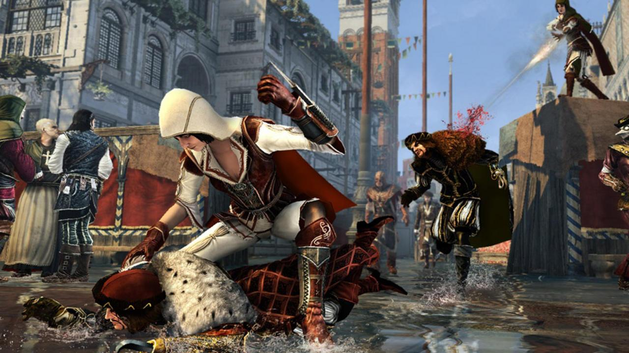 Assassin's Creed Brotherhood Dev Diary 4