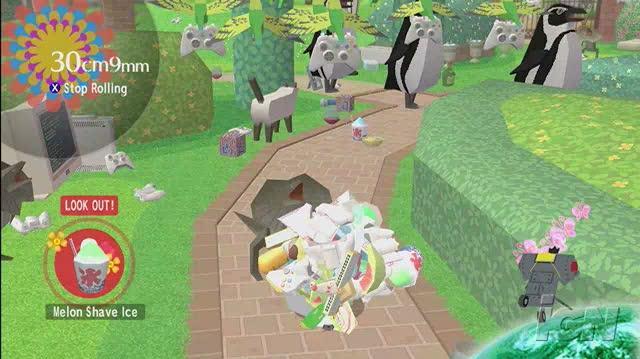 Beautiful Katamari Xbox 360 Gameplay - Into the Sky