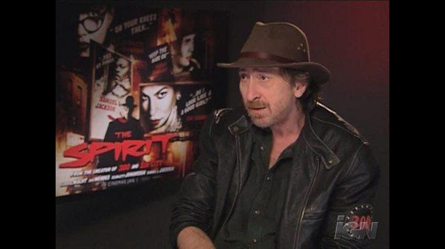 The Spirit Movie Interview - Frank Miller