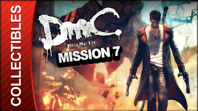 DmC Devil May Cry Mission 7 Overturn Collectible Locations - All Keys Doors and Lost Souls