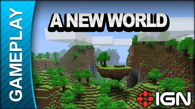 Minecraft - A New World - Gameplay