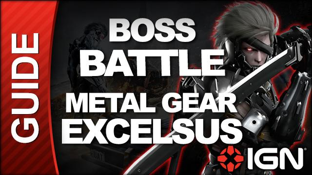 Metal Gear Rising Revengeance - Metal Gear Excelsus, S Ranking, Revengeance Difficulty