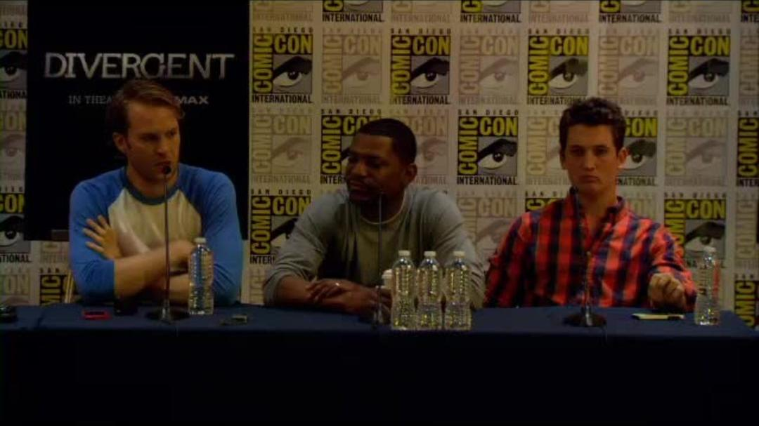 Divergent Comic-Con Press Conference Part 2