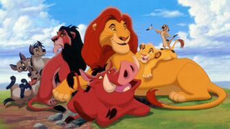 Disney Universe - Hanging with Lion King