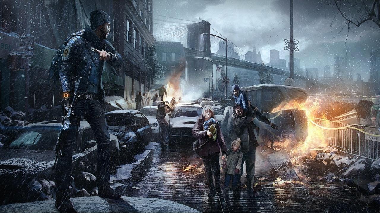 Tom Clancy's The Division Snowdrop Next-Gen Engine