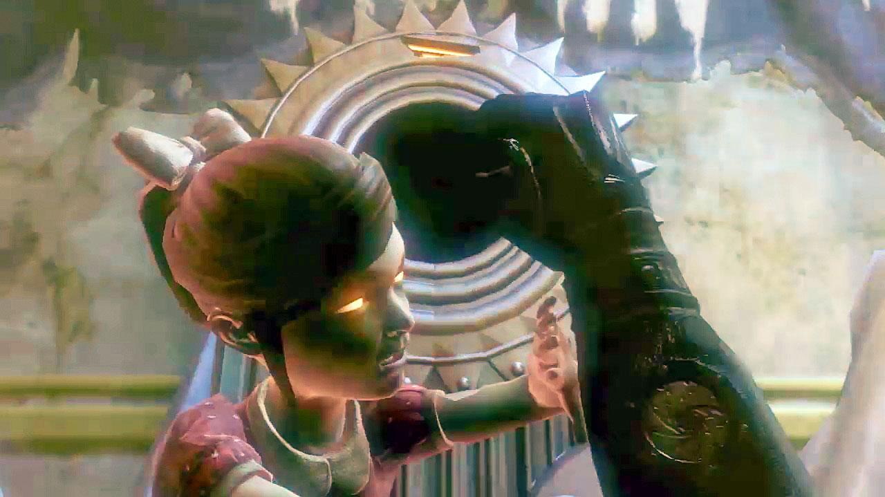 BioShock 2 - Harvesting a Little Sister - Gameplay