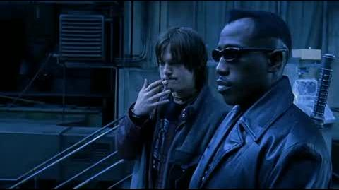 Blade II - discussing the plan