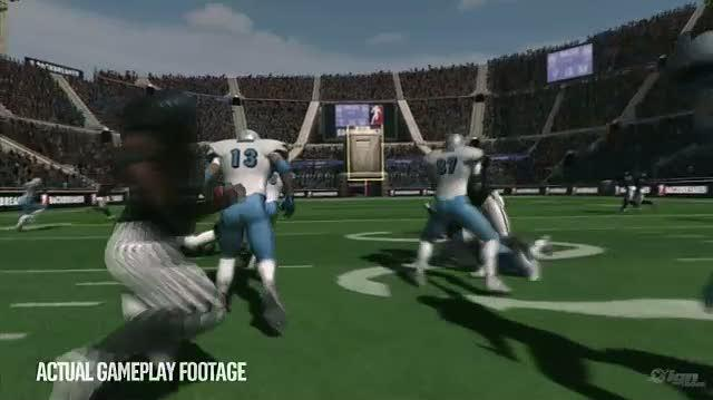 Backbreaker Xbox 360 Trailer - Smash Mouth Football Trailer