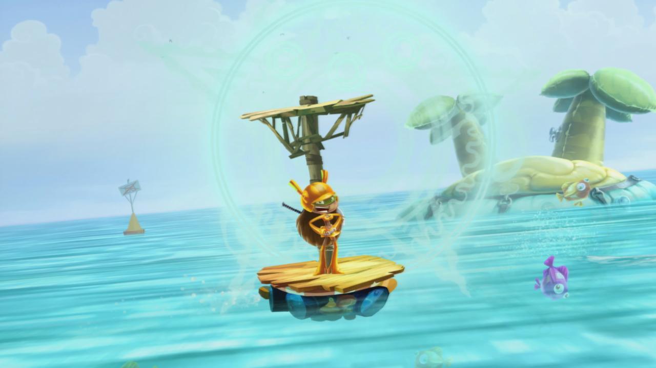 Rayman Legends Walkthrough 20,000 Lums Under the Sea - Gloo Gloo