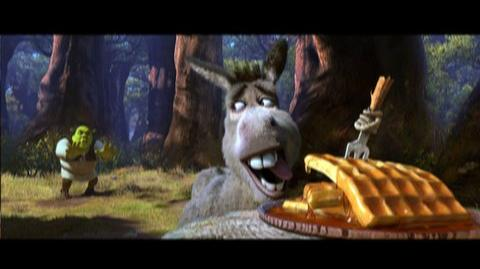 Shrek Forever After (2010) - Clip Waffles in the forest