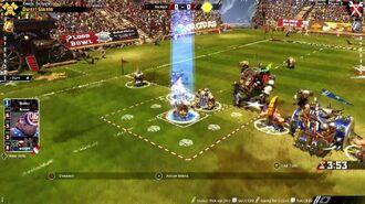 Blood Bowl 2 Dwarfs vs Skaven Gameplay Trailer