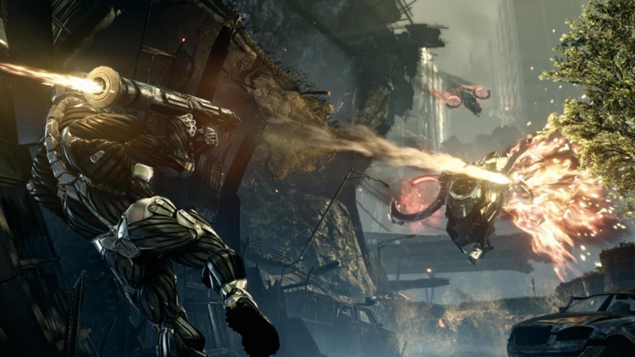 Crysis 2 Be Invisible Trailer