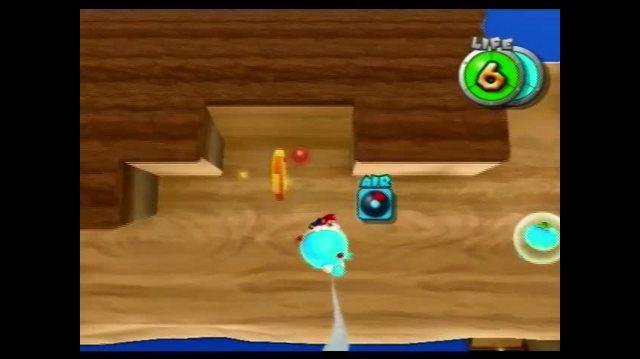 Super Mario Galaxy 2 Wii - Tall Trunk Galaxy - The Flotacious Blimp Fruit