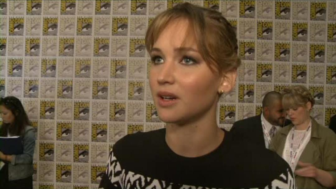 Catching Fire Comic-Con 2013 Interview - Jennifer Lawrence