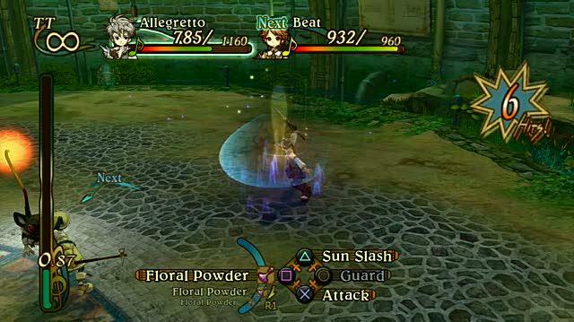 Eternal Sonata PlayStation 3 Gameplay - Pesky Rats