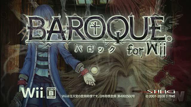 Baroque Nintendo Wii Trailer - Video 1