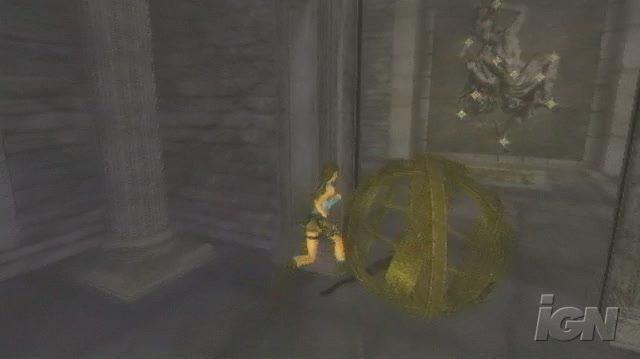 Tomb Raider Anniversary PlayStation 2 Gameplay - Lara's Ball