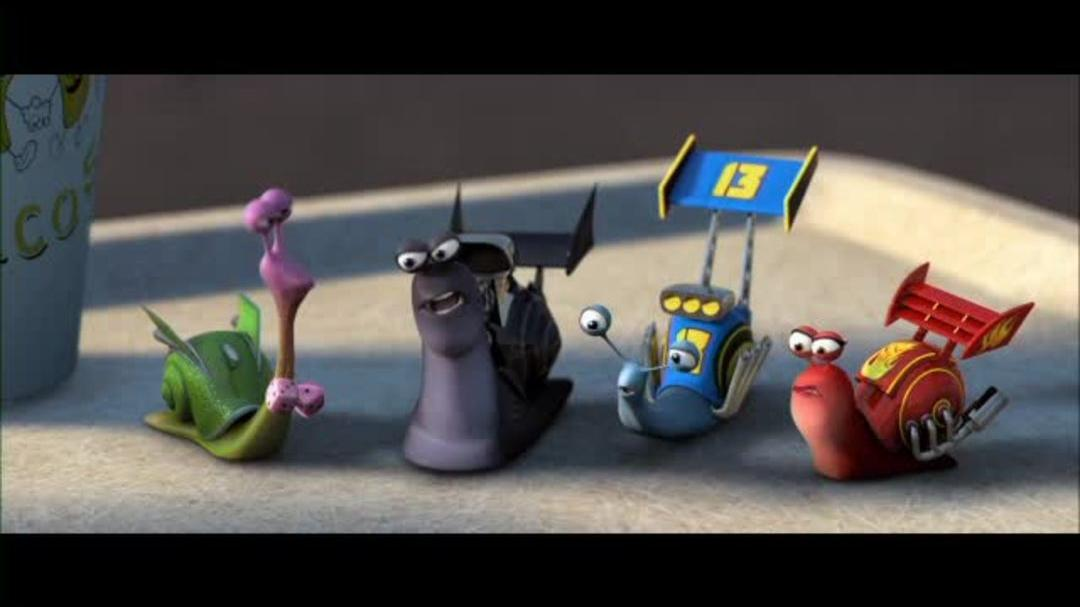 Turbo - That Snail is Fast Clip