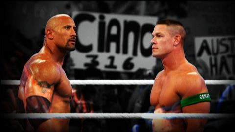 WWE The Rock vs. John Cena - Once in a Lifetime (2012) - WWE The Rock vs. John Cena - Once in a Lifetime