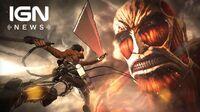 Koei Tecmo's Attack on Titan Game Follows Anime - IGN News
