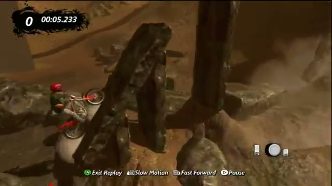 Trials Evolution Out Of The Pit Platinum Run