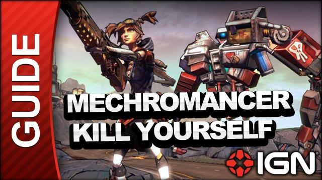 Borderlands 2 Mechromancer Walkthrough -Kill Yourself - Side Mission