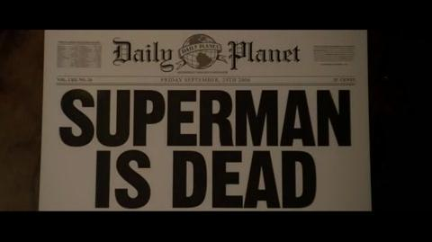 Superman Returns - Lois watches the news