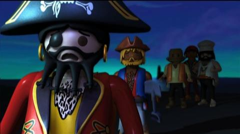 Playmobil The Secret Of Pirate Island (2009) - Two toys embark on an exciting, sea-faring adventure in this animated trailer