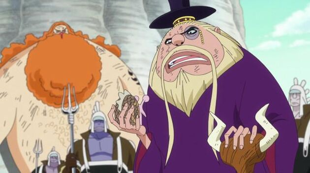 One Piece - Episode 563 - A Shocking Fact! the True Identity of Hordy!