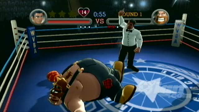 Punch-Out!! Nintendo Wii Guide-Walkthrough - Walkthrough Exhibition Challenges - Bear Hugger