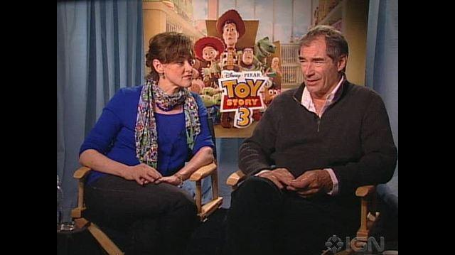 Toy Story 3 Movie - Joan Cusack & Timothy Dalton Chat