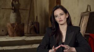 300 Rise of an Empire - Eva Green Artemisa Interview