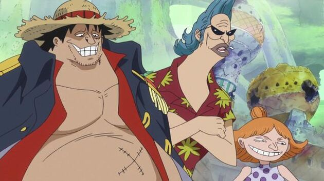 One Piece - Episode 521 - The Battle Is On! Show Them What You Got from Training!